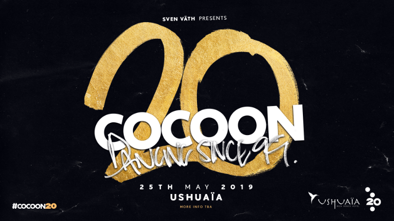 How is Cocoon celebrating their 20th anniversary?