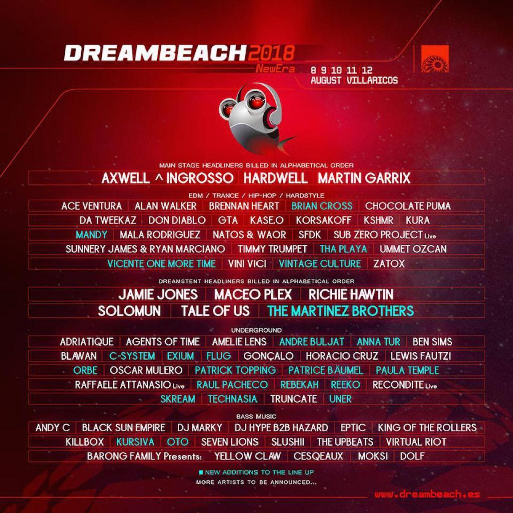 Dreambeach is Complete! Music Festival -Clubbingtv.com
