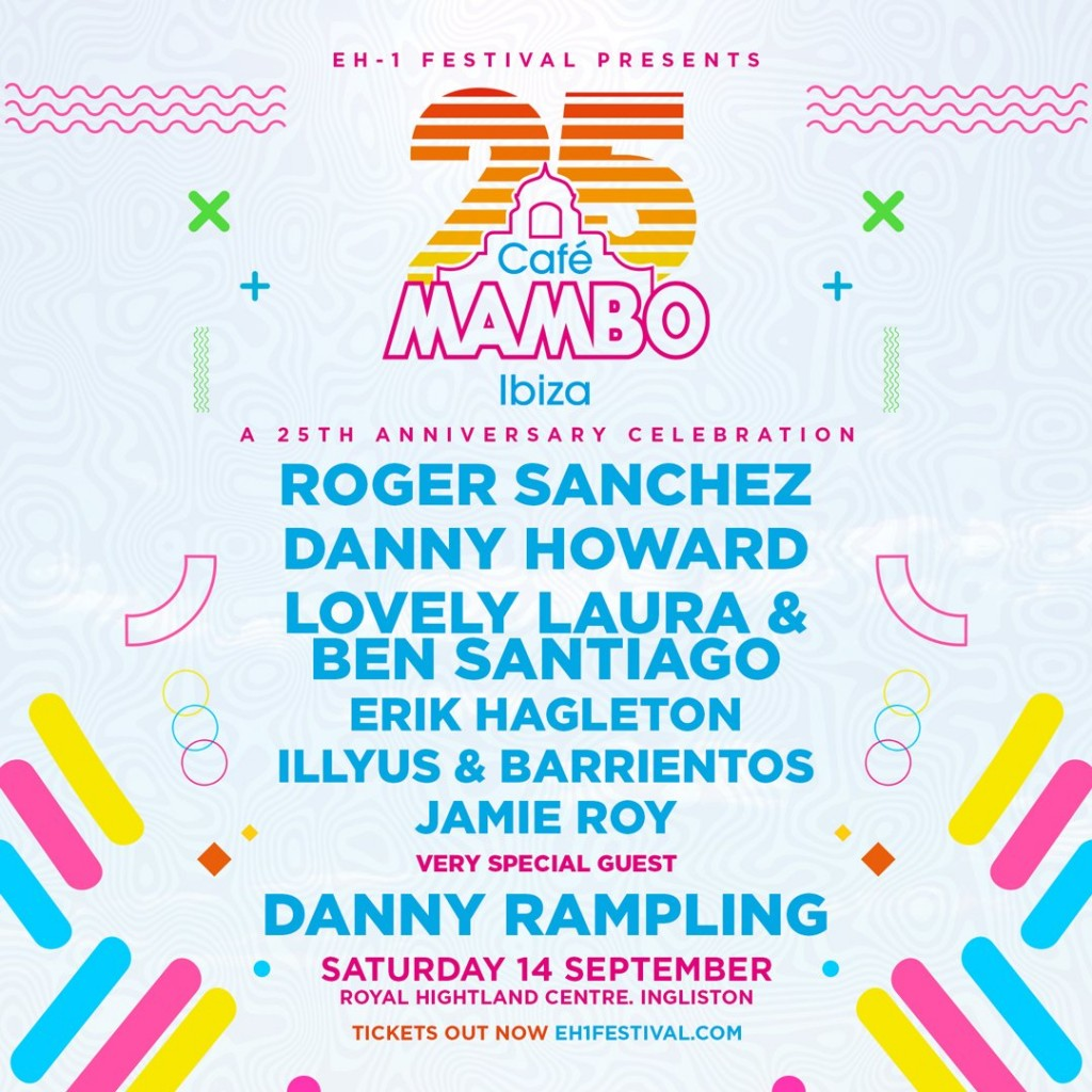 Café Mambo is celebrating its 25th anniversary with EH1 Festival!