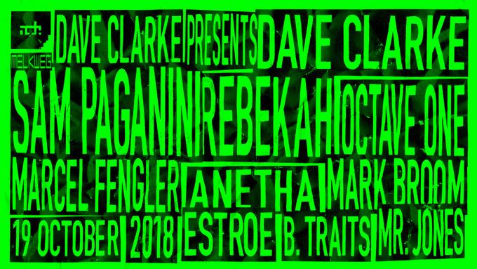 Dave Clarke's 14th ADE Residency