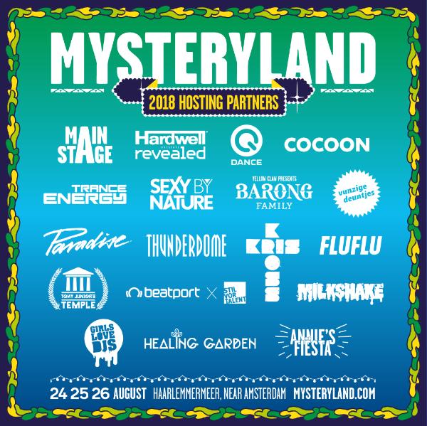 Mysteryland Partners Up!