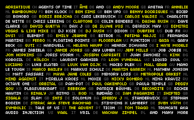 First Confirmed ADE Artists!