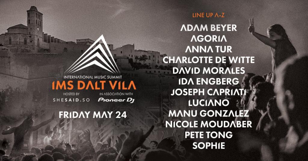 IMS Dalt Vila has announced their lineup!