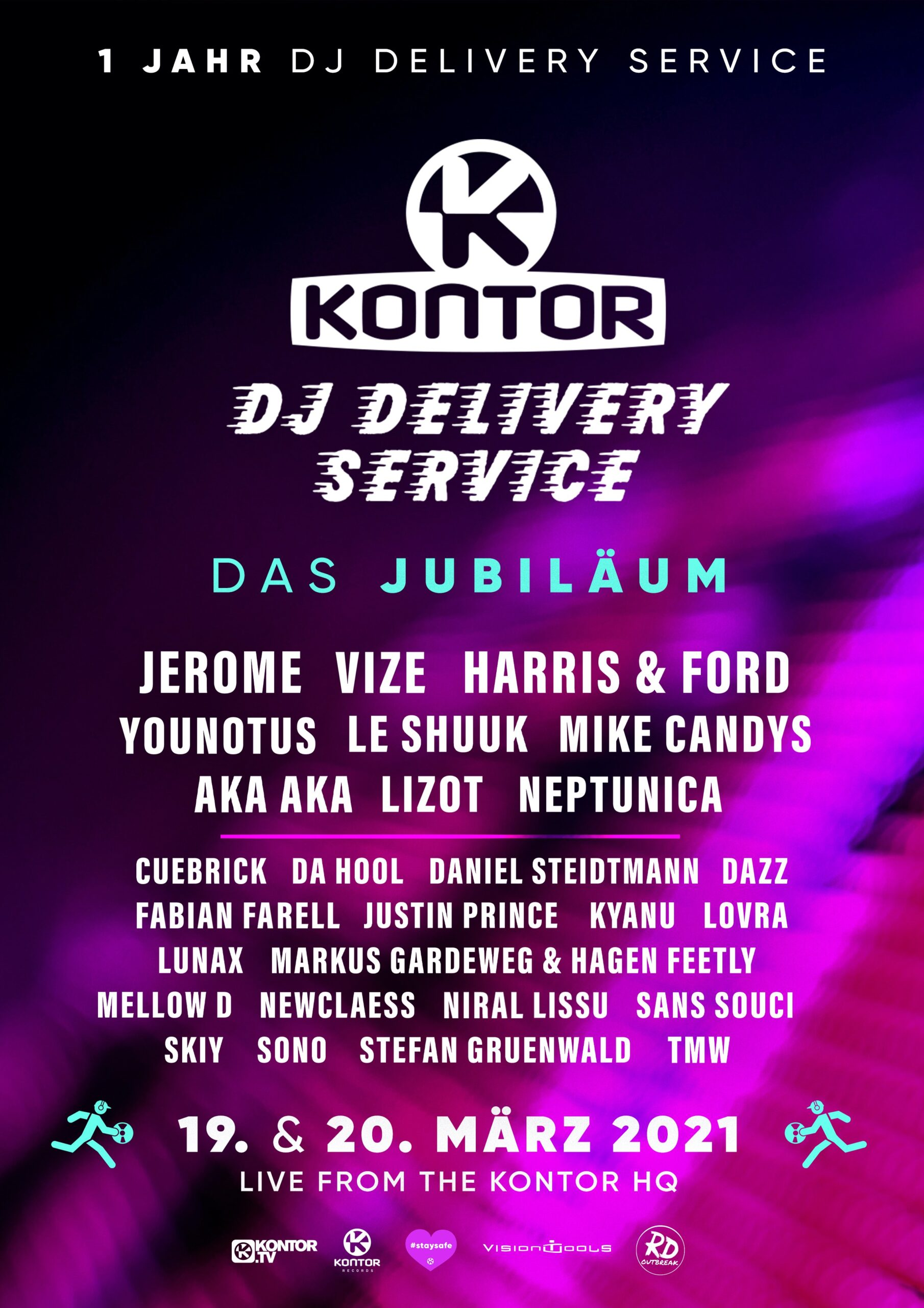 One Year On: Kontor DJ Delivery Service