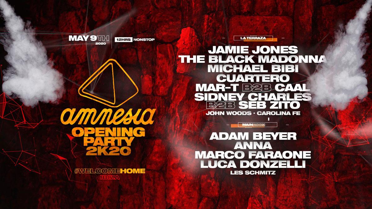 Amnesia Ibiza Opening Party 2020 is cancelled -Clubbingtv.com