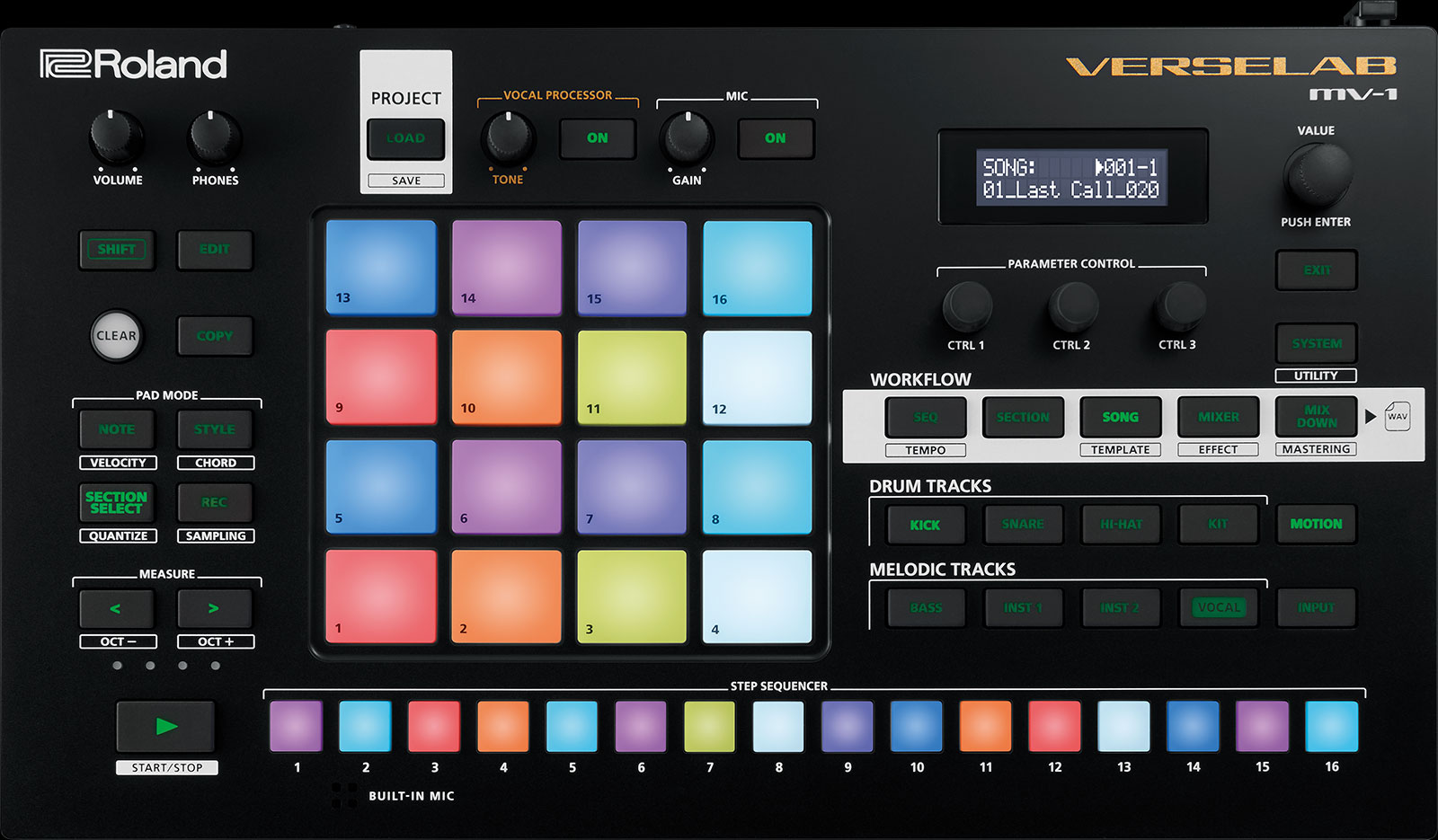 Roland unveils Verselab, an all-in-one music production machine