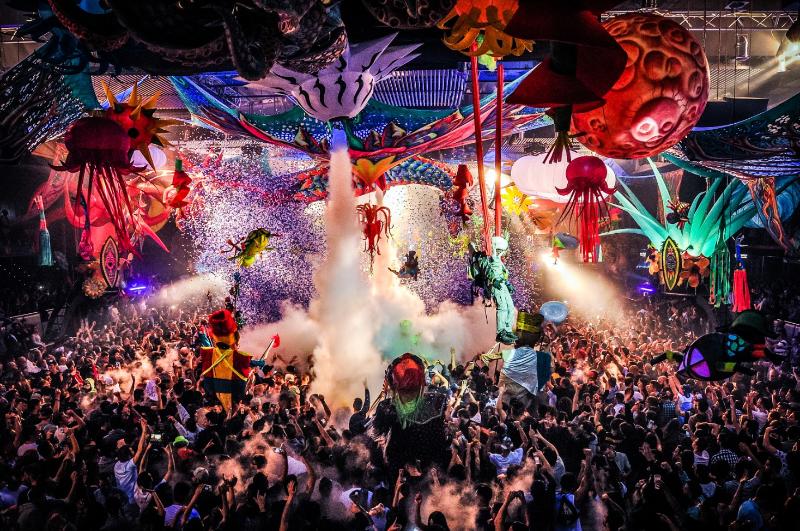 This is Elrow's biggest indoor festival!