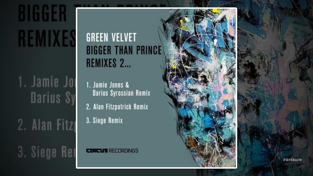 "Green Velvet's ""Bigger Than Prince"" gets remixed!"