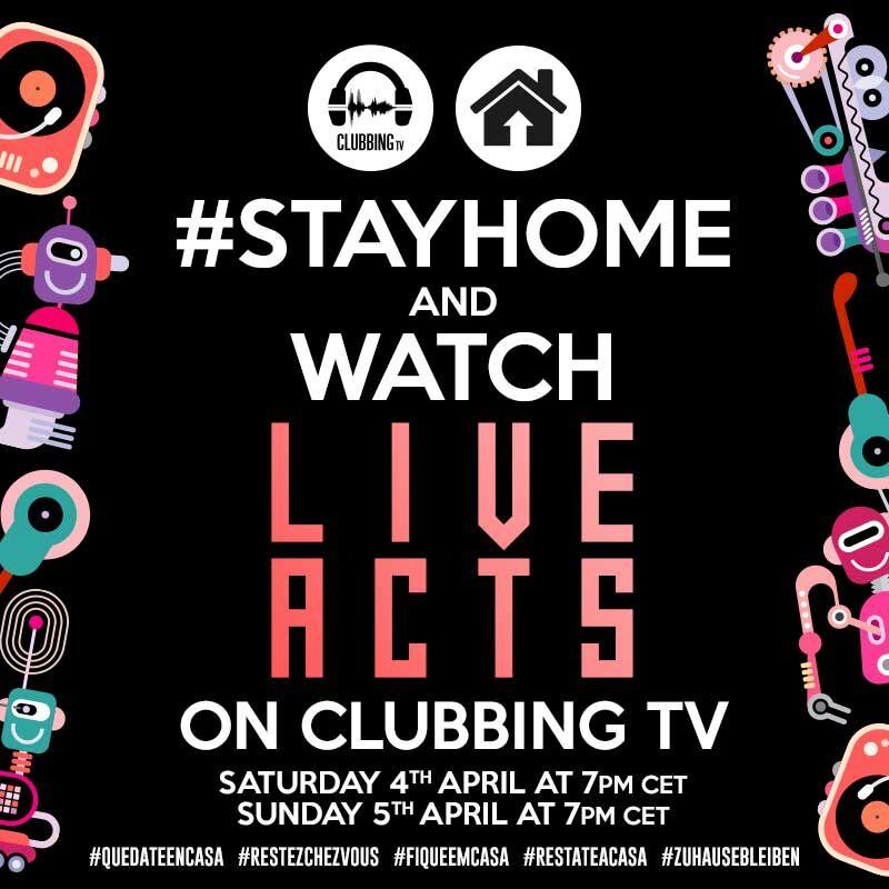 #StayHome with ClubbingTV!