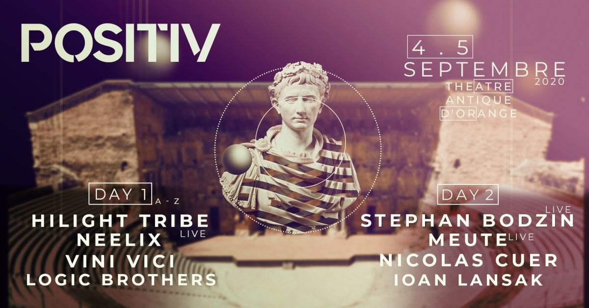 Positiv Festival will take place in September 2020