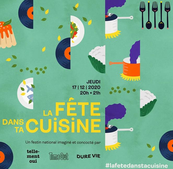 'La fête dans ta cuisine', a national feast with music!