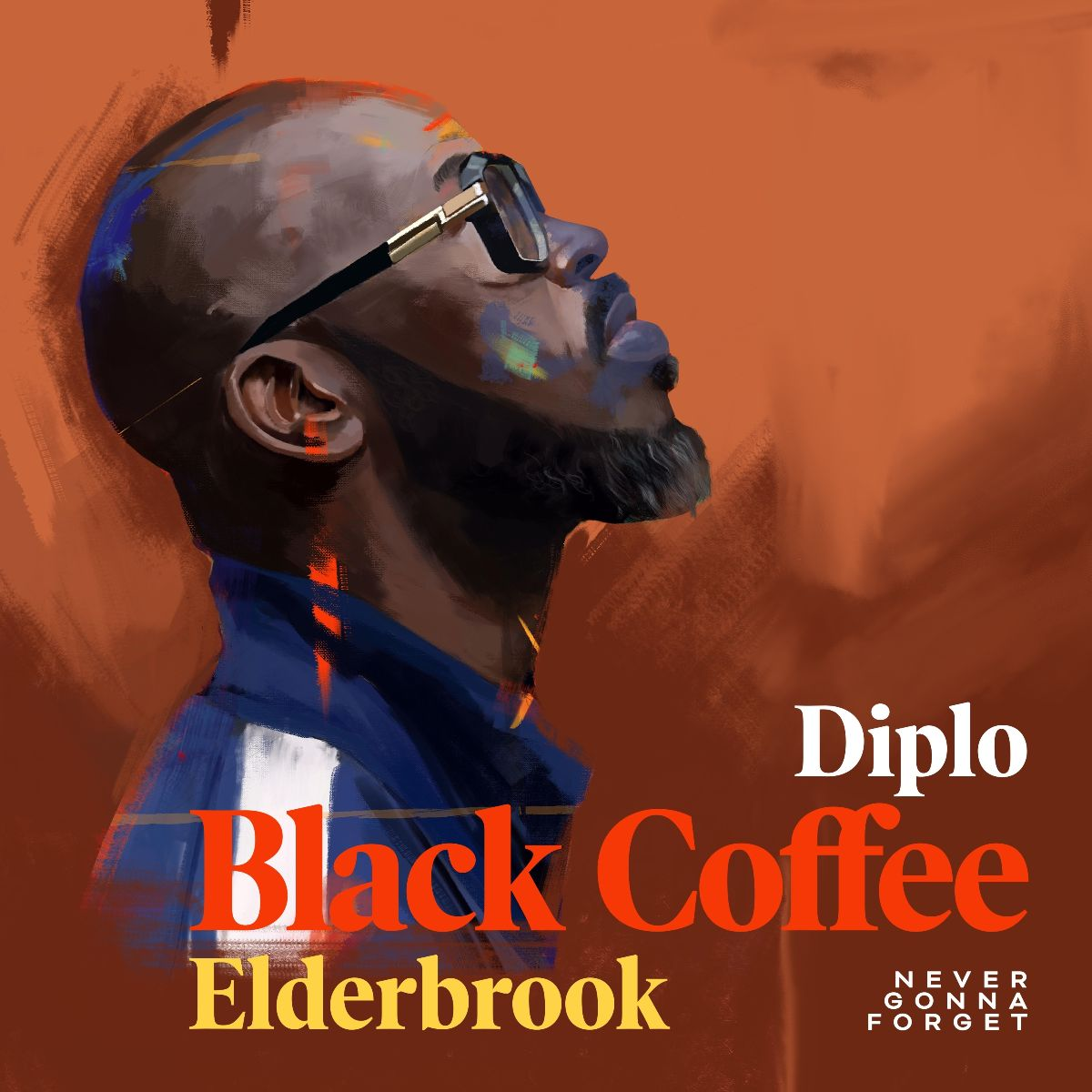 Black Coffee, Diplo and Elderbook collaborate on a new single 'Never Gonna Forget'!