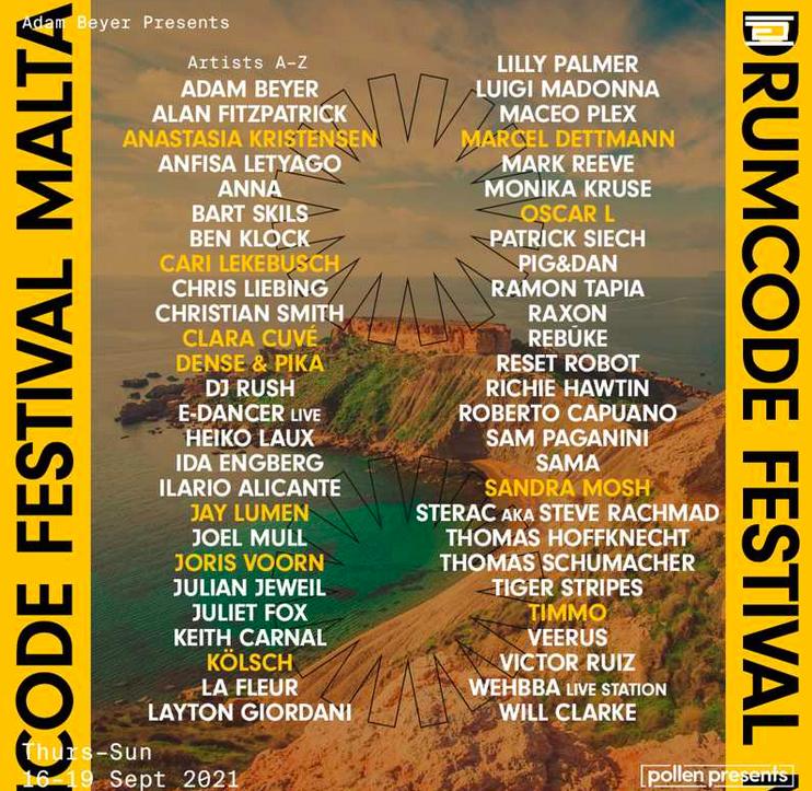 The Drumcode Festival in Malta is getting bigger!