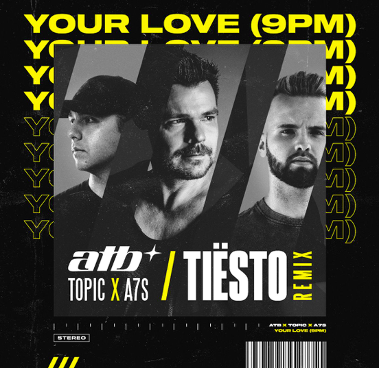 Tiësto unveils his club-ready remix of ATB's 'Your Love (9pm)'!