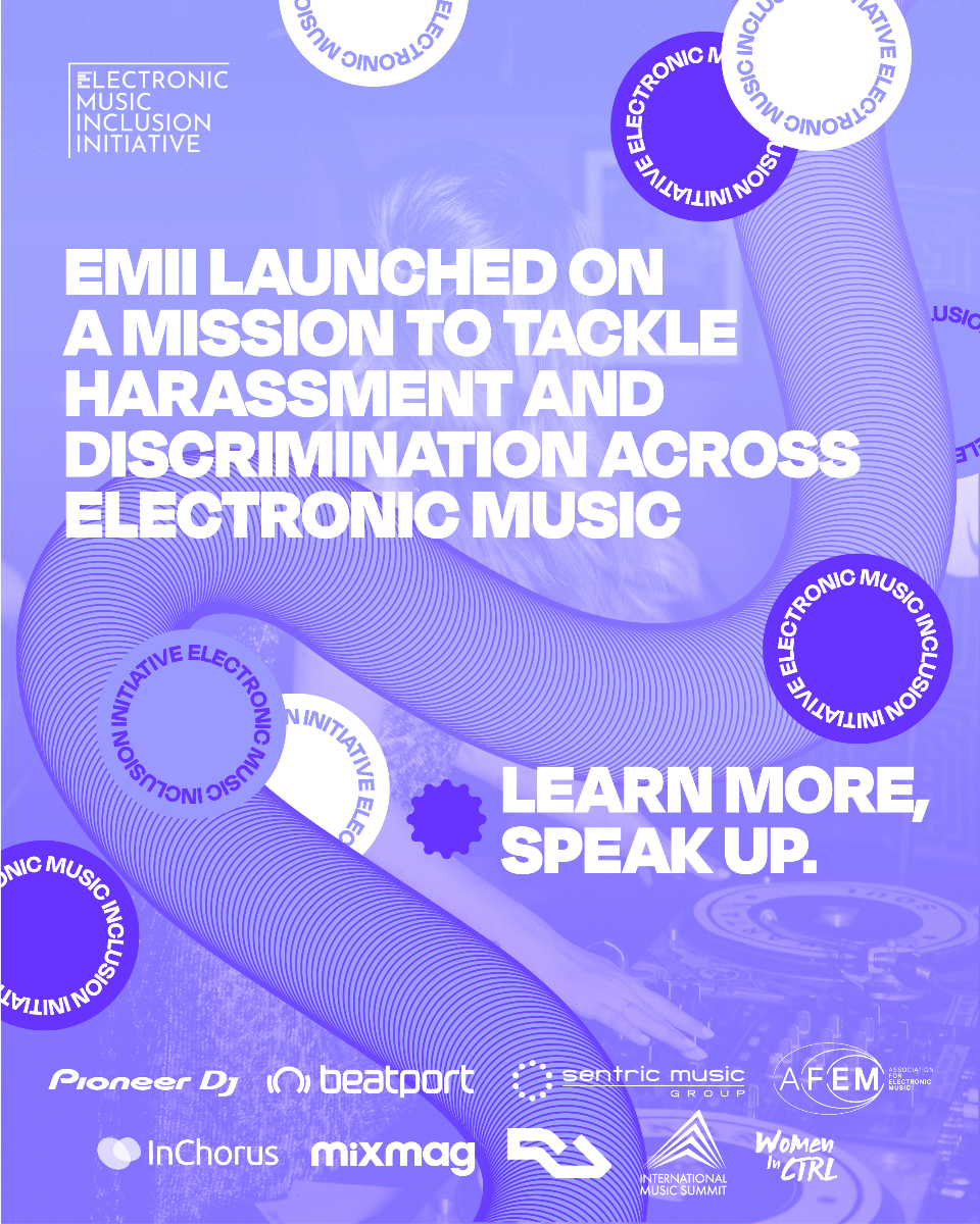 Electronic music organisations have launched an Inclusion Initiative!