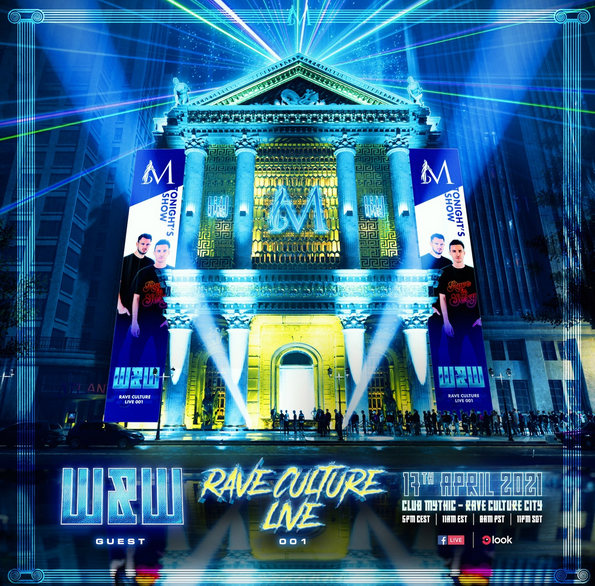 Rave Culture Live Series, the new livestream concept by W&W!