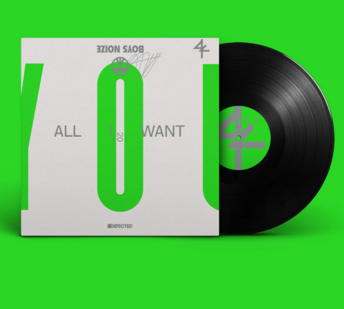 Boys Noize returns to Defected with 'All I Want' !