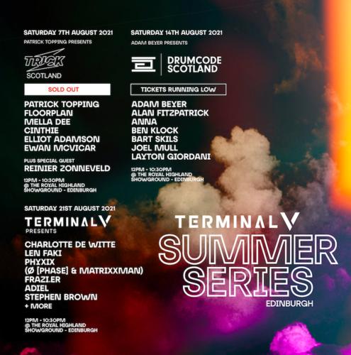 Terminal V announces an Open Air Summer Series in August!