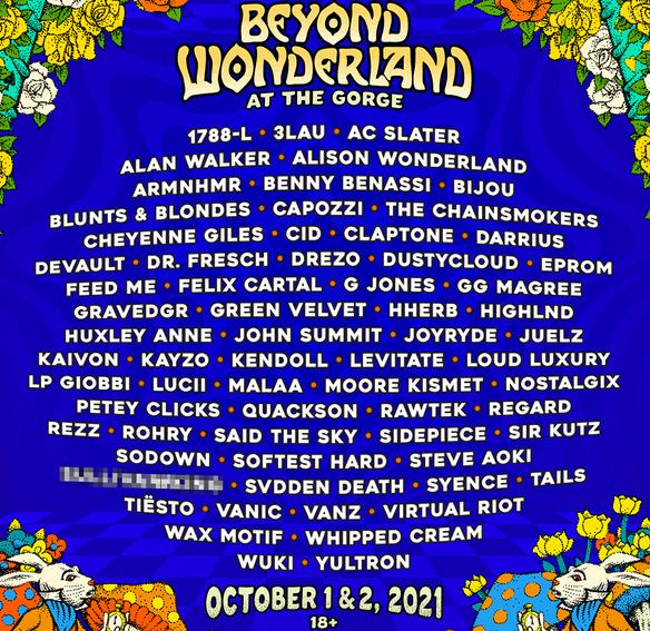Insomniac reveals full details for Beyond Wonderland festival in Washington!