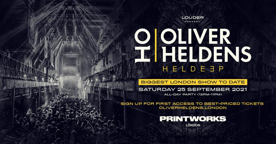 Louder Present : Oliver Heldens – Printworks London