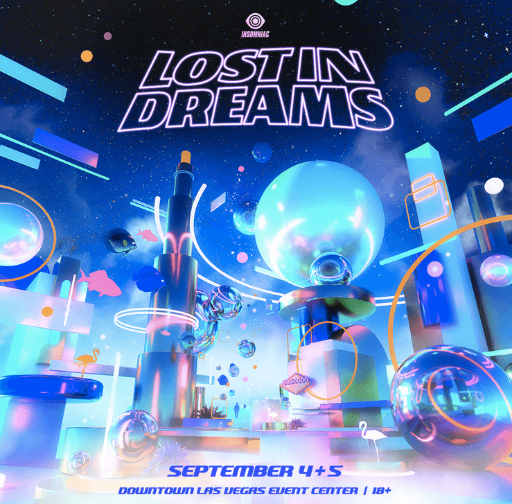 Insomniac 's Lost In Dreams will take place in Las Vegas!