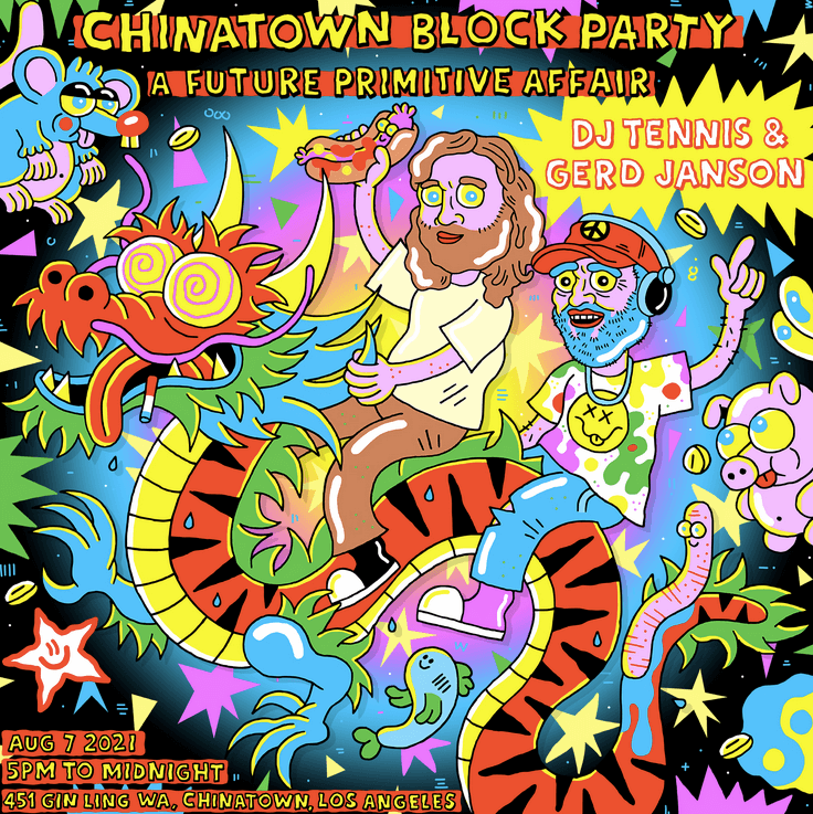 Chinatown Block Party: a Future Primitive affair in LA!