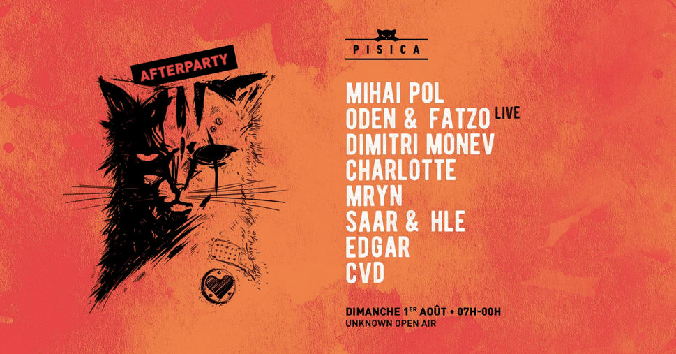 Pisica All Day Afterparty : Mihai Pol, Oden & Fatzo live & More