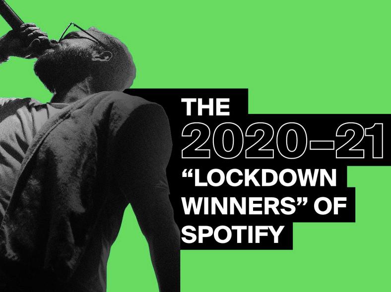 The 'Lockdown Winners' of Spotify!