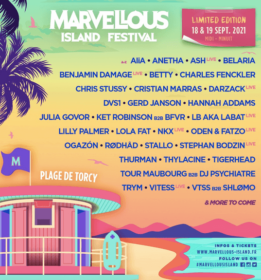 Marvellous Island Festival 's Limited Edition is here!