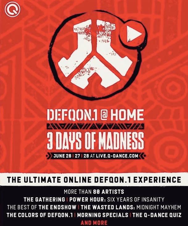 Back to Defqon.1 's next-level virtual festival…