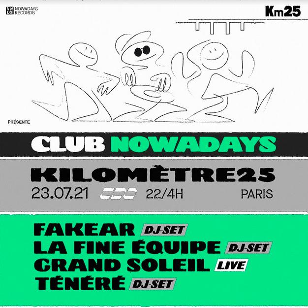 Club Nowadays x Kilometre25