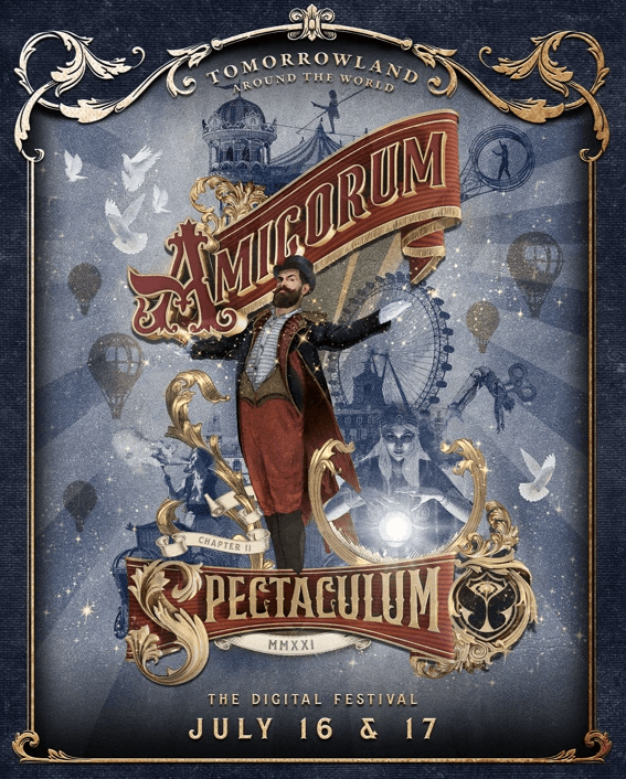 Tomorrowland welcomes the virtual Amicorum Spectaculum!