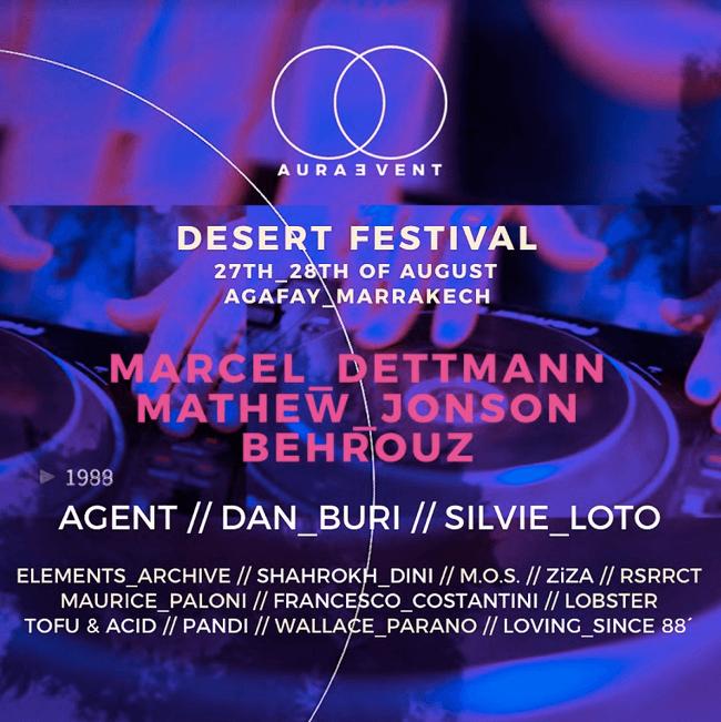 Discover Aura Event, the new Moroccan desert festival!