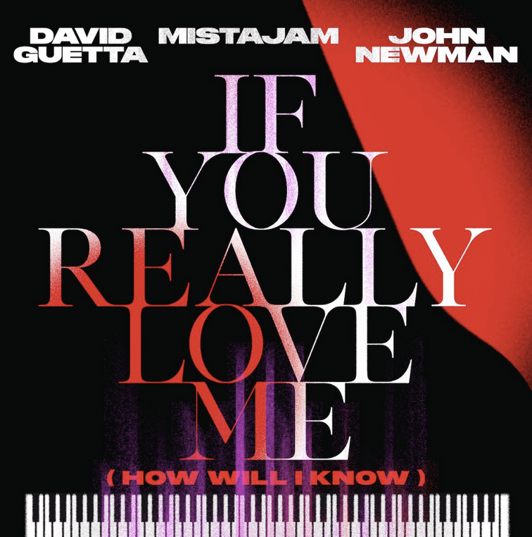 David Guetta 's new collab on 'If You Really Love Me' !