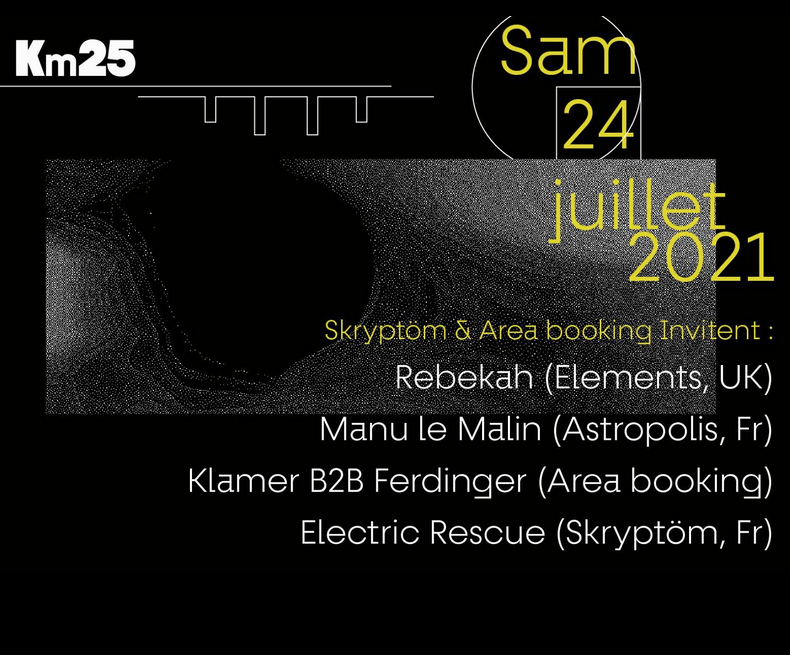 Skryptöm and AREA Booking team up on an event!
