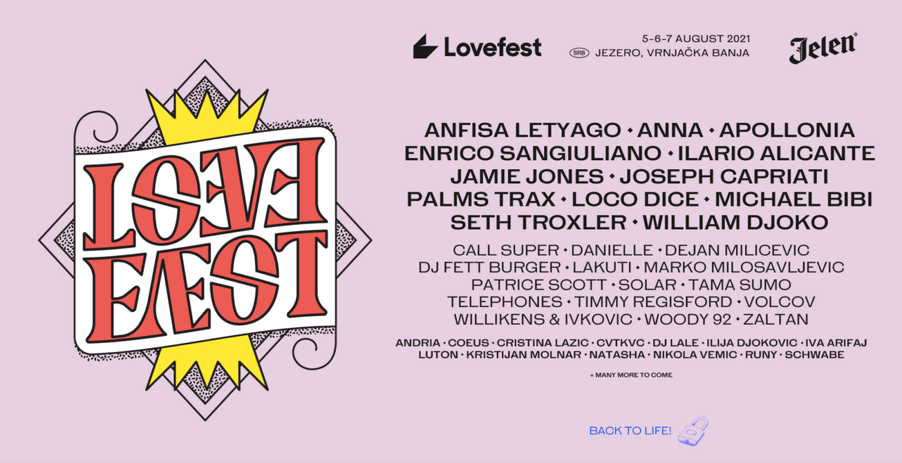Lovefest festival in Serbia is back with good news!