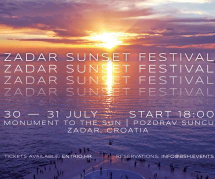 Discover the Zadar Sunset Festival in Croatia …