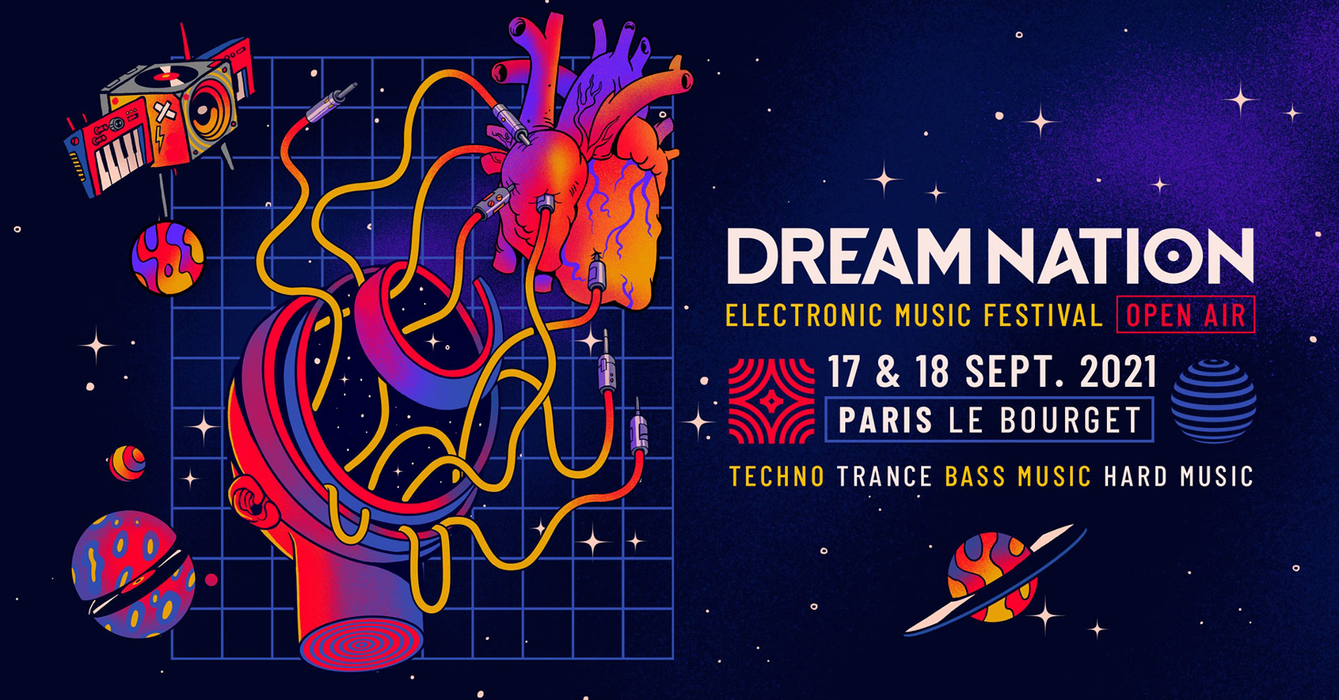 Get a chance to experience Dream Nation Festival Open Air!