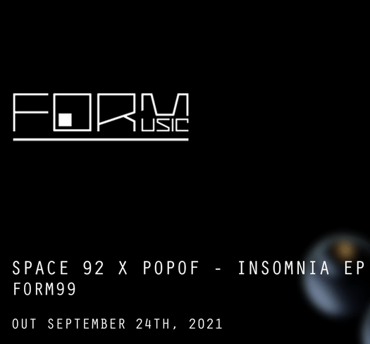 'Insomnia' by Space 92 and featuring POPOF is finally out!