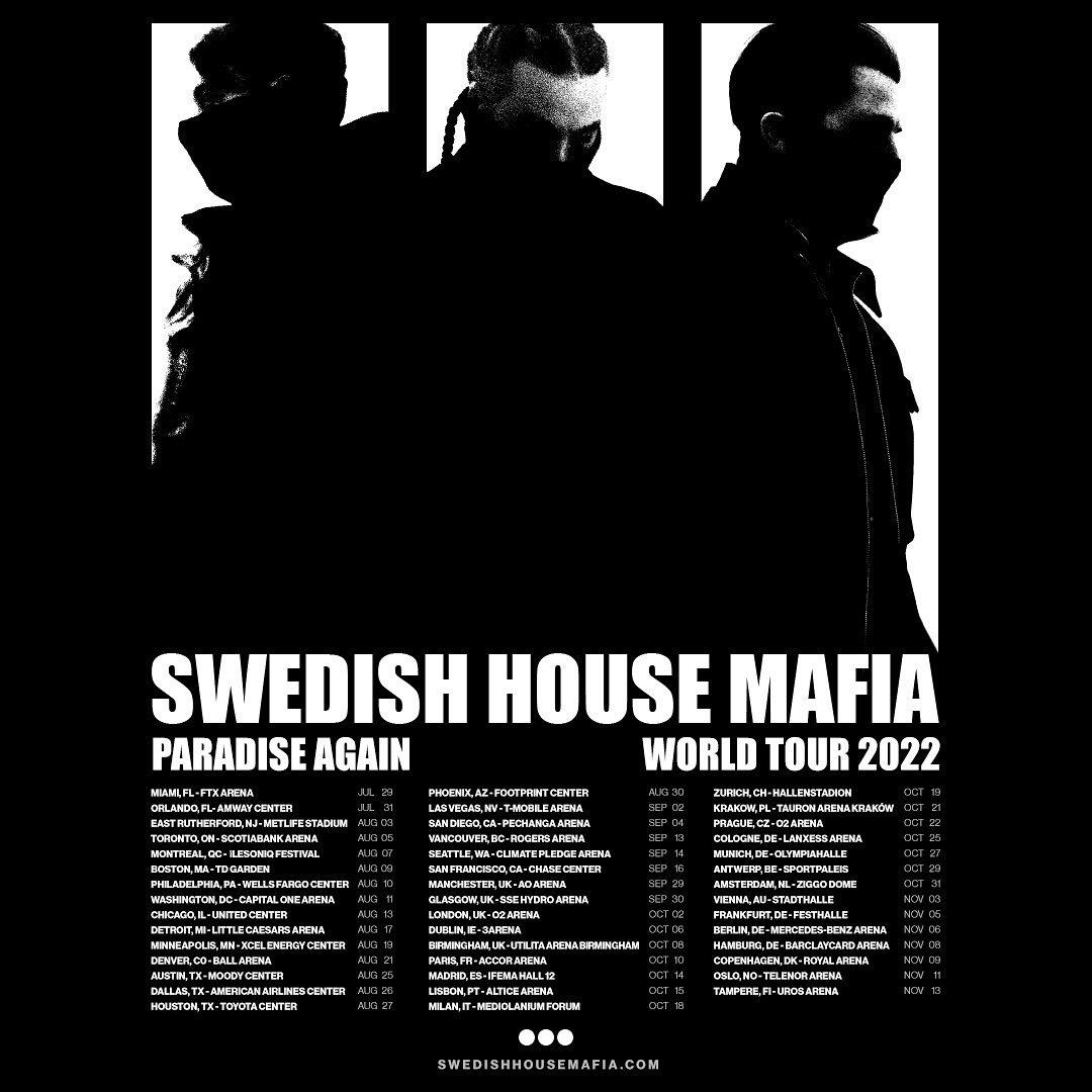 The Swedish House Mafia announces huge 2022 tour!