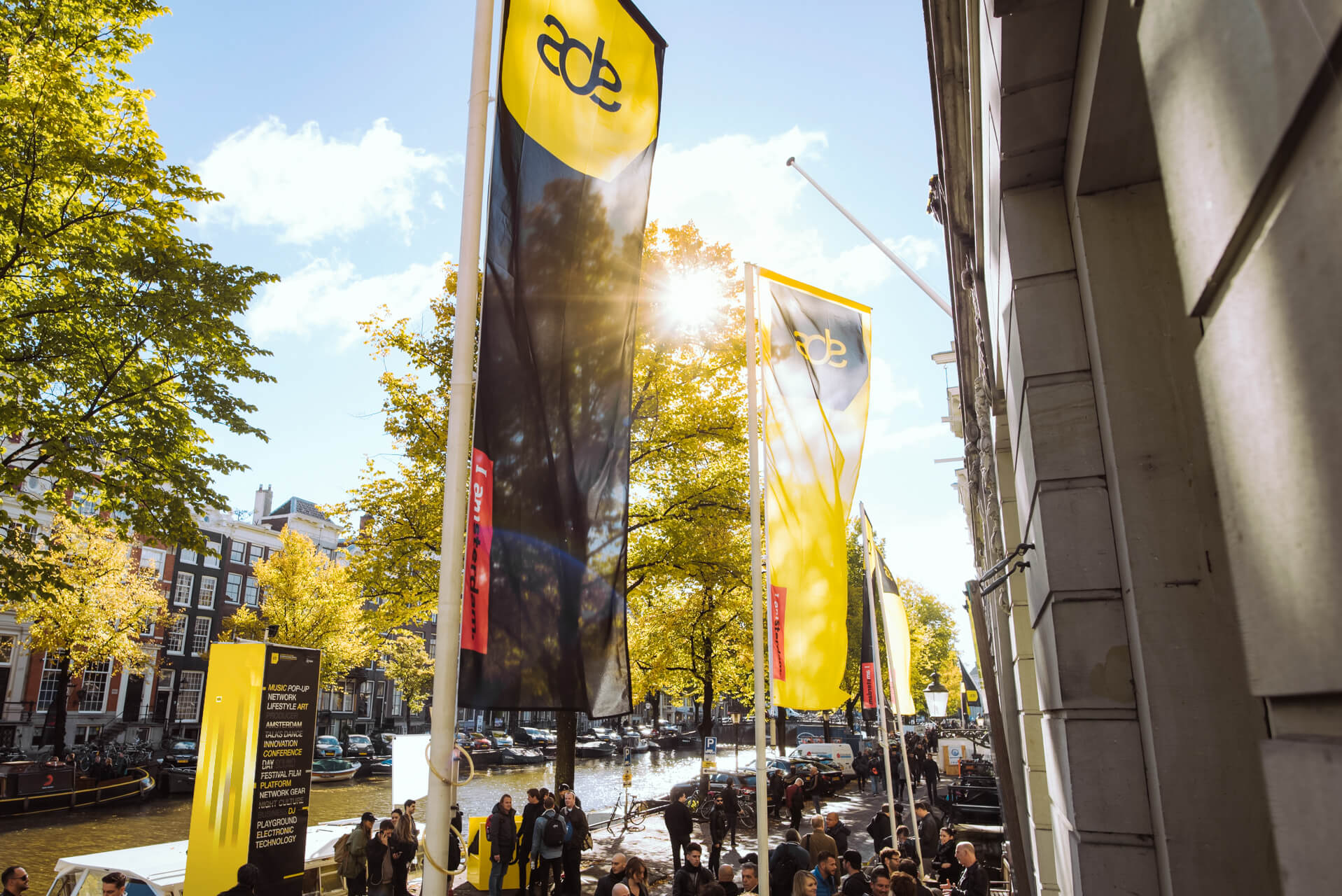 Most of ADE Festival events are confirmed for daytime program!