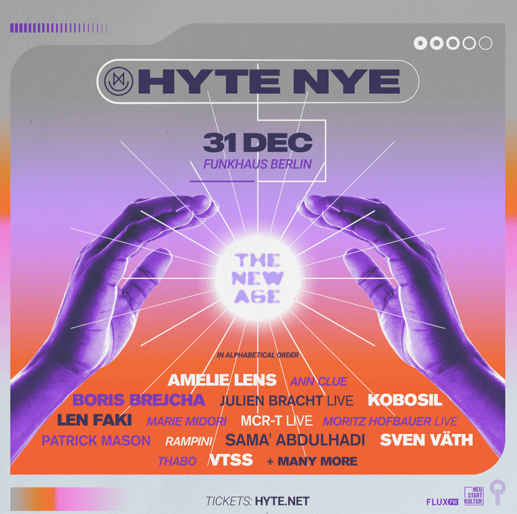 Europe's famous NYE rave, HYTE, is finally back!