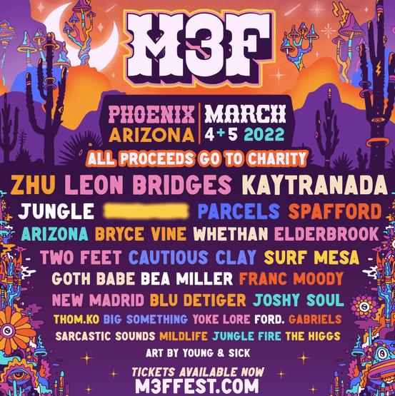 Arizona, ready for the non-profit Music Festival M3F?