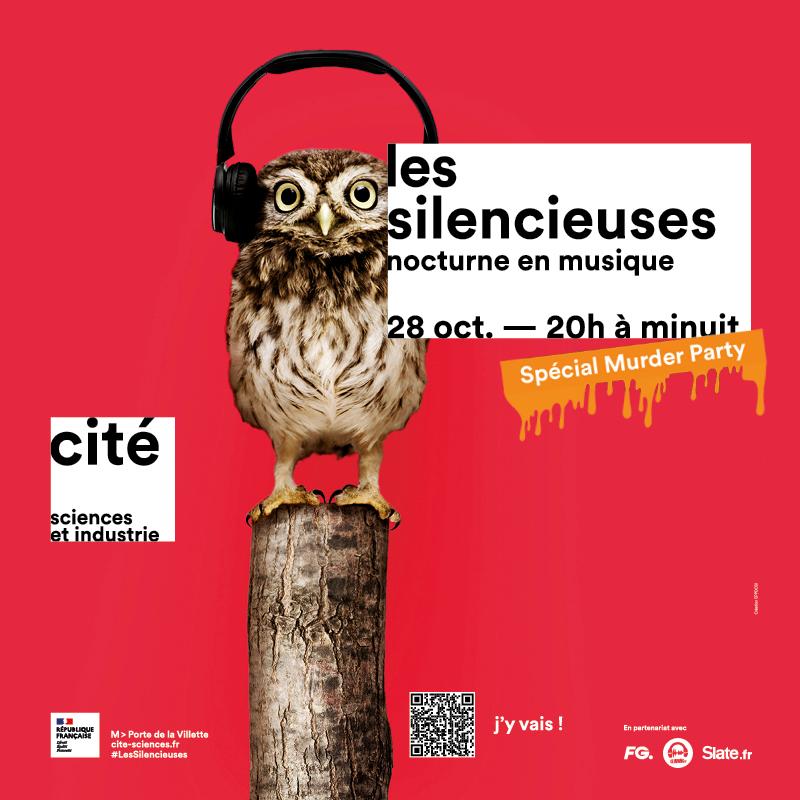 Les Silencieuses Paris 28/10/21